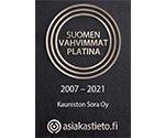 Suomen Vahvimmat - Kauniston Sora Oy